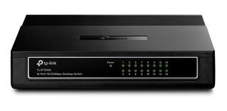 Switch 16 Puertos Tp-link 10/100mbps Desktop Tl-sf1016d