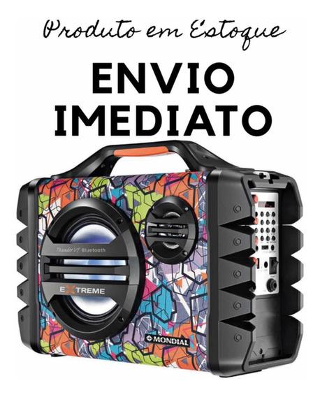 Caixa Som Amplificadora Mondial Mco-06 Usb E Micro 120 Rms