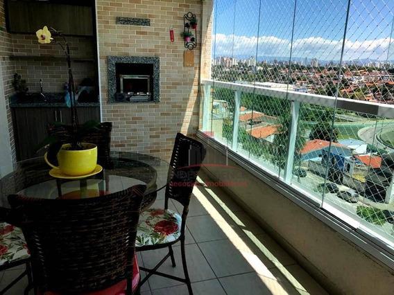 Apartamento À Venda, 103 M² Por R$ 590.000,00 - Floradas De São José - São José Dos Campos/sp - Ap3118