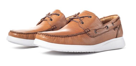 Zapato De Piel Karosso Kasual 7000 Miel