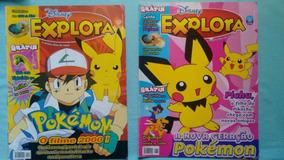 Revista Explora Pokemon Lote