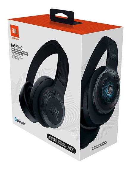 Fone De Ouvido Original Jbl E65bt Nc Headphone C/ Bluetooth
