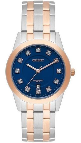 Relógio Orient Feminino Ftss1114 D1sr * Swarovski Elements
