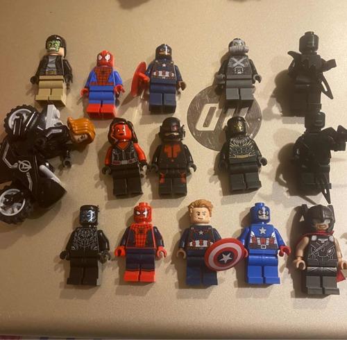 Imagen 1 de 10 de Marvel Lego - Minifiguras (por Unidad)