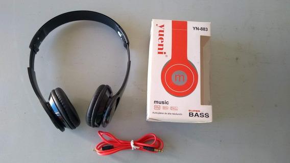 Fone De Ouvido/headphone Yueni® Yn-883 Super Bass