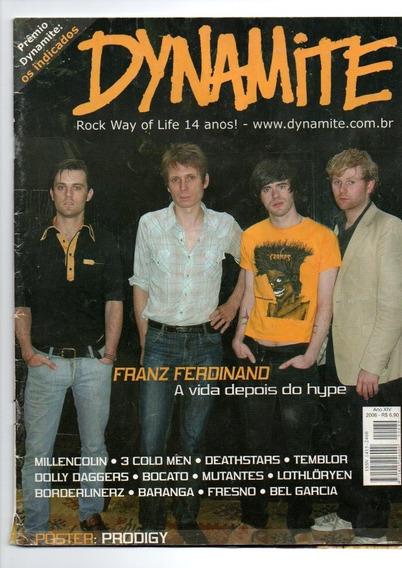 Revista Dynamite Frans Ferdinabd Um Pôster Do Prodigy (1036)