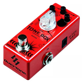Pedal De Guitarra Booster Overtone Tone Box