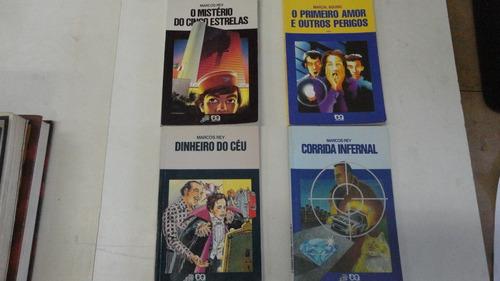 Lote Com 4 Livros Coleção Vaga-lume