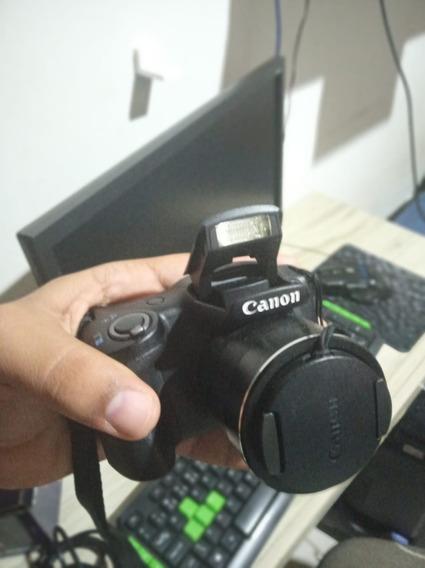 Câmera Canon Fotográfica Super Zoom