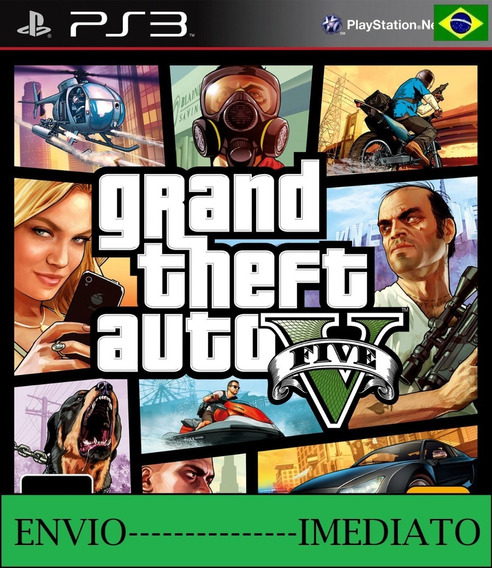 Grand Theft Auto V Ps3 Mídia Digital Envio Imediato