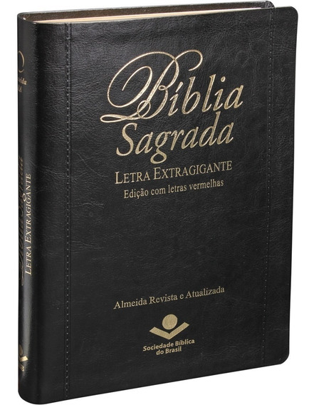 Bíblia Sagrada Letra Extragigante Com Índice | Almeida Ra