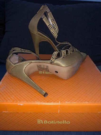 Zapato Batistella De Cuero, Un Uso, Talle 37