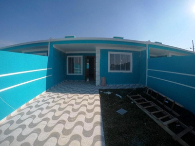 Casa Residencial À Venda, Jardim Brasil, Fazenda Rio Grande. - Ca0824 - Ca0824 - 32837307
