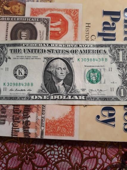 Billete Con Terror De Usa