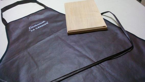 Delantales De Cocina En Ecocuero. Personalizados