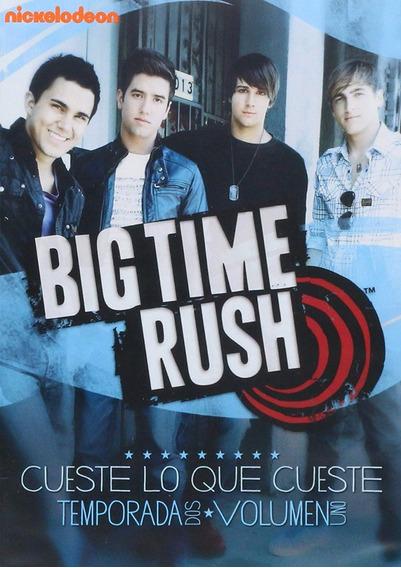 Big Time Rush Temporada 2 Dos Volumen 1 Uno Dvd