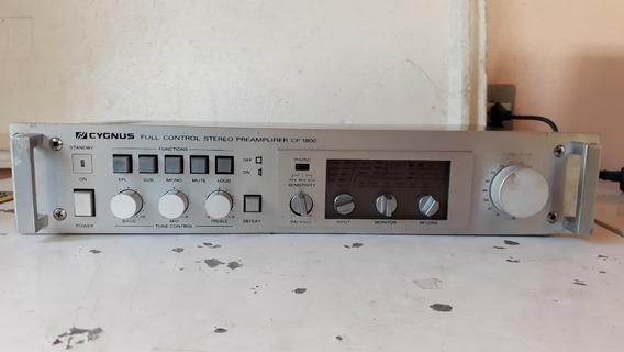 Pré Amplificador Cygnus Cp-1800 ( Frente Escovada )