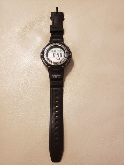 Relógio Casio Outgear Sgw100 Bússola Digital Termômetro 200m