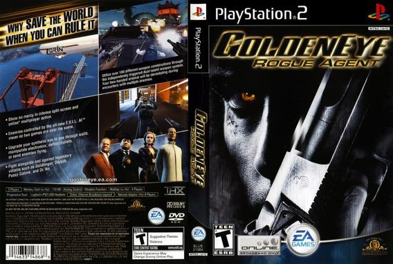 Goldeneye Rogue Agent James Bond 007 Ps2 Desbloqueado Patchs