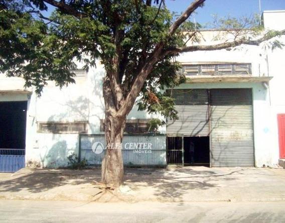 Galpão Para Alugar, 320 M² Por R$ 2.500/mês - Setor Cândida De Morais - Goiânia/go - Ga0092