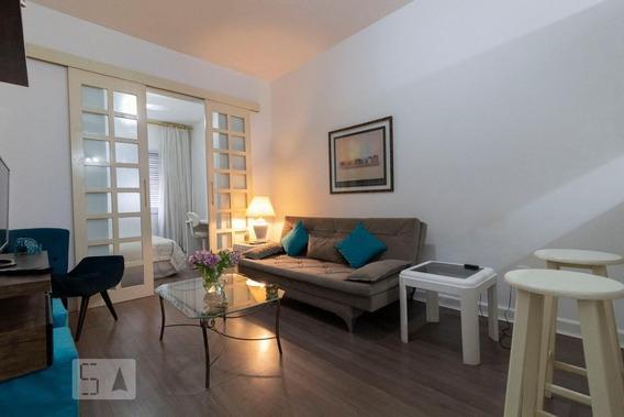 Apartamento No 1º Andar Com 1 Dormitório E 1 Garagem - Id: 892950571 - 250571