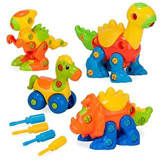 Creative Kids Build Y Learn Juguetes De Dinosaurio Modelo De