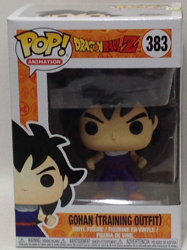 Funko Pop Dragon Ball Gohan (training Outfit) 383