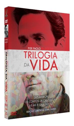 Dvd Trilogia Da Vida Paolo Pasolini Versatil - Bonellihq M20