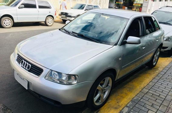 Audi A3 Manual 1.8 Turbo Prata 20v 180cv Gasolina 4p