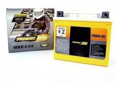 Bateria Pioneiro Moto 6 Ah Biz 100, 125, Cg125, 150,broz150