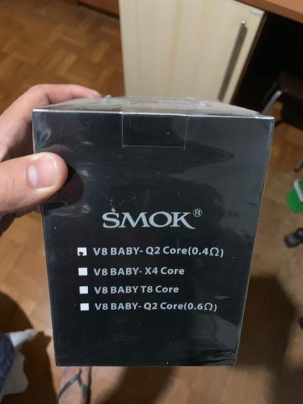 50x Smok Tfv8 - V8 Baby Q2 Coil 0.4ohm - Preço Para Revender