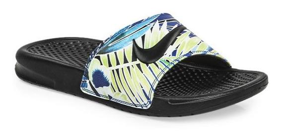 Ojotas Nike Benassi Print W 100% Originales Con Garantía!