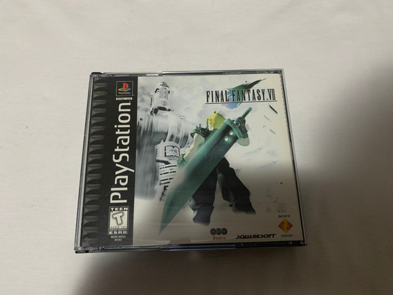 Final Fantasy 7 Missprint Ps1 Original Completo Americano