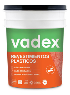Revestimiento Plastico Vadex Romanica Medio 30k Rex
