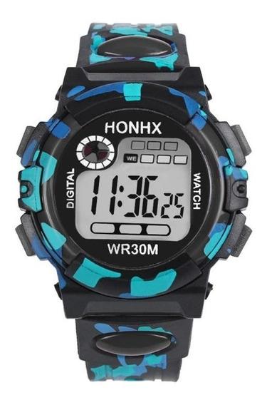 Relógio De Alta Qualidade Multifuncional À Prova D