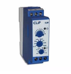 Relé Temporizador Clip 8 Funções Modelo Clm