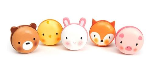 Imagen 1 de 5 de Macarons Tender Leaf Toys Variados De Animales De Madera