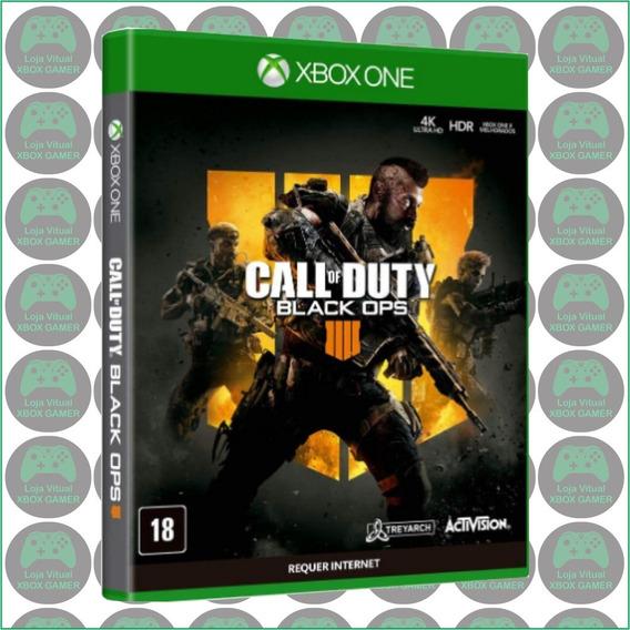 Call Of Duty: Black Ops 4 Mídia Física Lacrada Para Xbox One