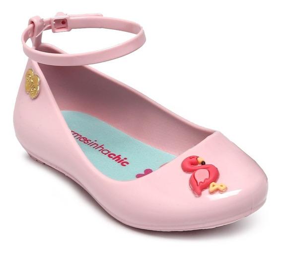 Sapatilha Charmosinha Chic Flamingo Rosa Pastel 1783