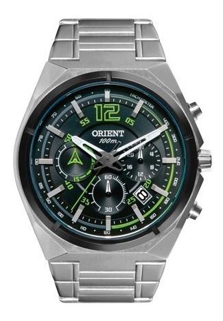 Relógio Orient Masculino Cronógrafo Mbssc132 - Frete Grátis