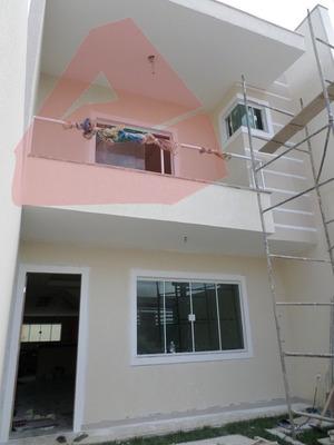 Casa Para Venda, 3 Dormitórios, Verdes Mares - Macaé - 858