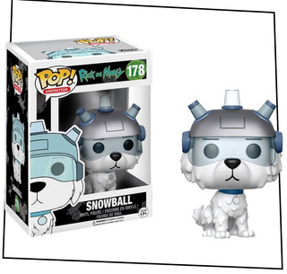 Funko Pop! - Rick And Morty - Snowball #178