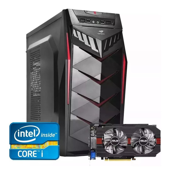 Pc Gamer Core I5 + Rx 550 2gb + 8gb Memória + Ssd 240gb