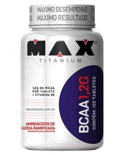 Bcaa 1,2- Max Titanium 120 Tabletes