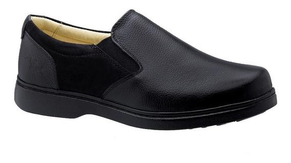 Sapato Masculino 415 Especial Neuroma De Morton Em Couro Flo