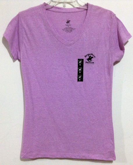 Remate Playera Beverly Hills Polo Club T S C318-c319
