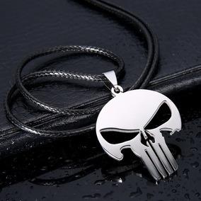 Colar O Justiceiro Caveira Negra (the Punisher Dark Knight)