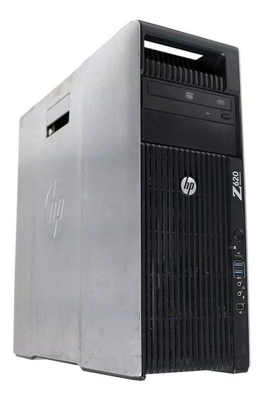 Workstation Hp Z620 Xeon E5-2620 2.0 32gb 1x 500gb - Usado