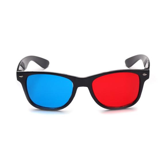 2018 Novo Universal 3d Óculos Quadro Vermelho Azul 3d Visão