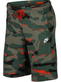 Bermuda Nike Sportswear Club Camo 2.0 Masculino